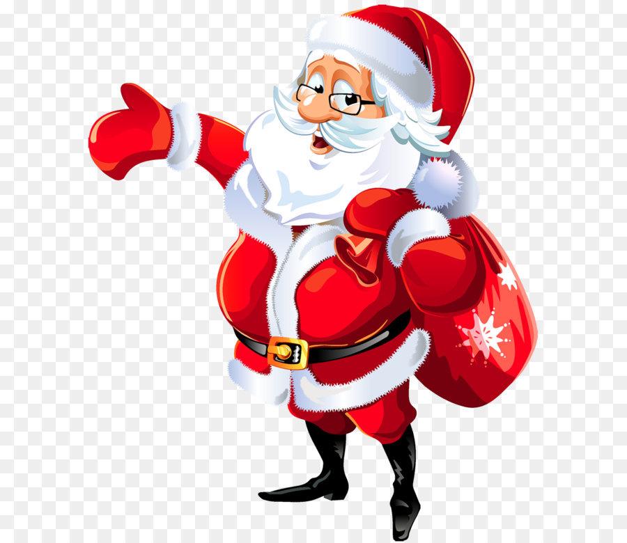 Descarga gratuita de Santa Claus, Rudolph, La Navidad imágenes PNG