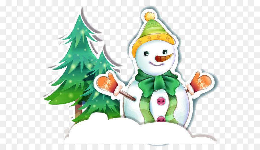 Descarga gratuita de Muñeco De Nieve, La Navidad, árbol Imágen de Png