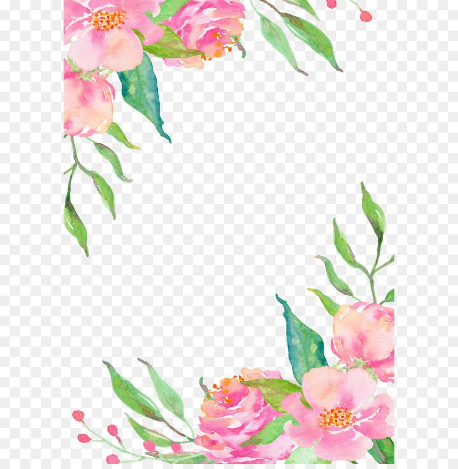 Descarga gratuita de Frontera Flores, Flor, Rosa Flores imágenes PNG