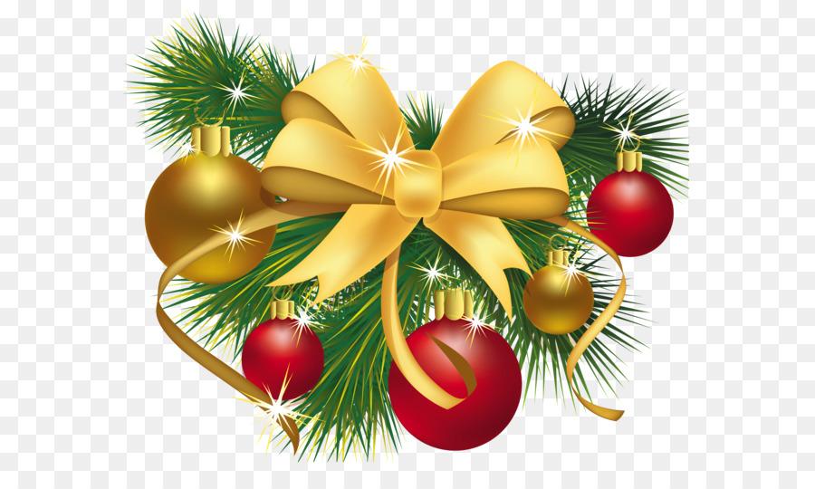 Descarga gratuita de La Navidad, Regalo, Guirnalda Imágen de Png