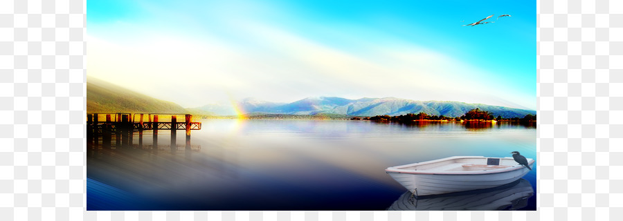 Descarga gratuita de Lago, Cielo, Paisaje Imágen de Png