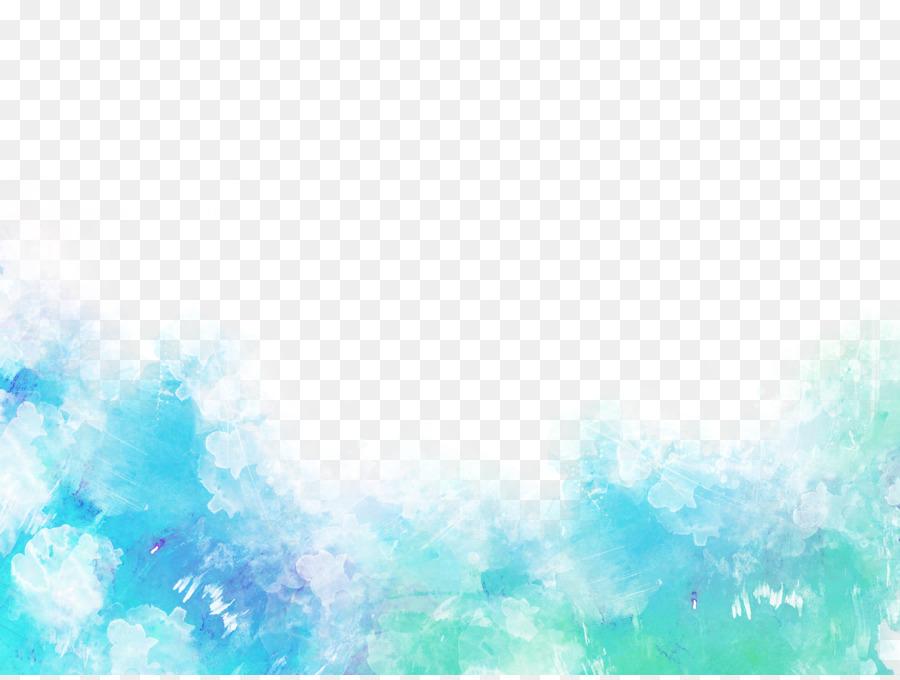 Descarga gratuita de Azul, Sombreado, Pintura A La Acuarela imágenes PNG