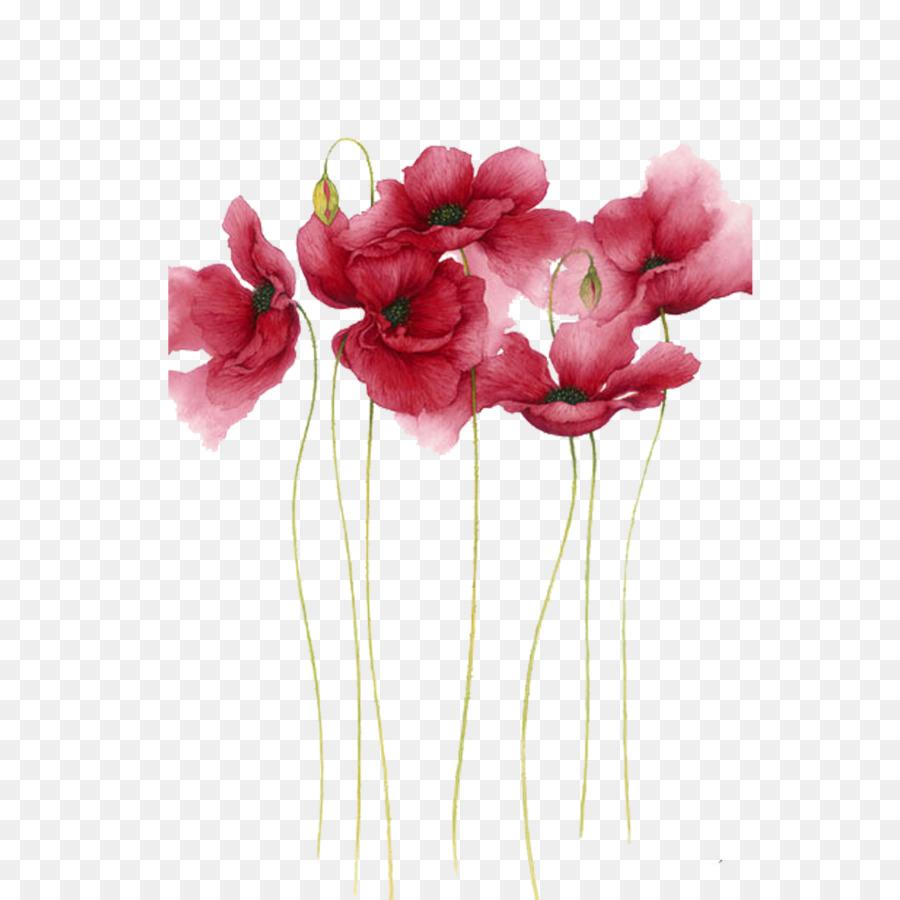 Descarga gratuita de Pintura A La Acuarela, Flor, Pintura imágenes PNG