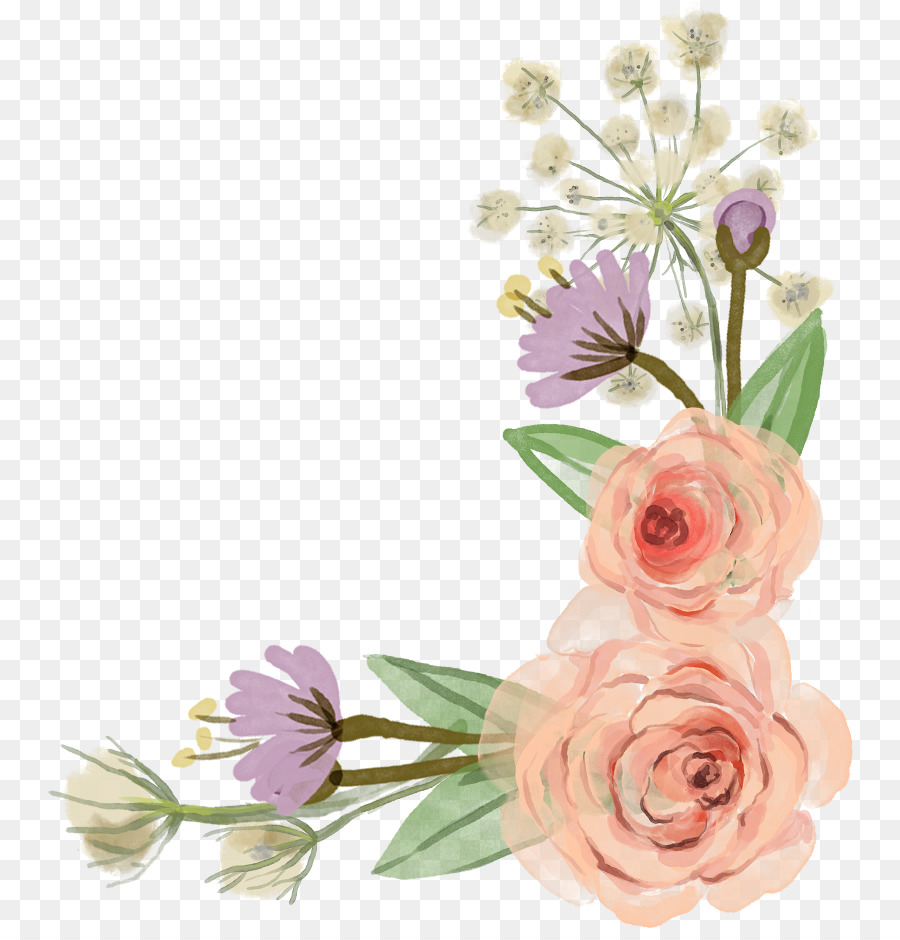 Descarga gratuita de Flor, Rosa, Diseño Floral imágenes PNG