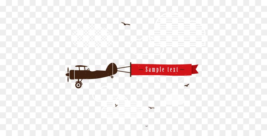 Descarga gratuita de Avión, Banner, Euclídea Del Vector imágenes PNG