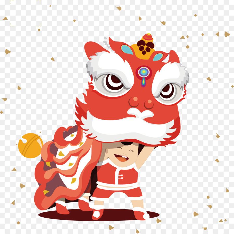 Descarga gratuita de Danza Del León, Año Nuevo Chino, Tangyuan imágenes PNG