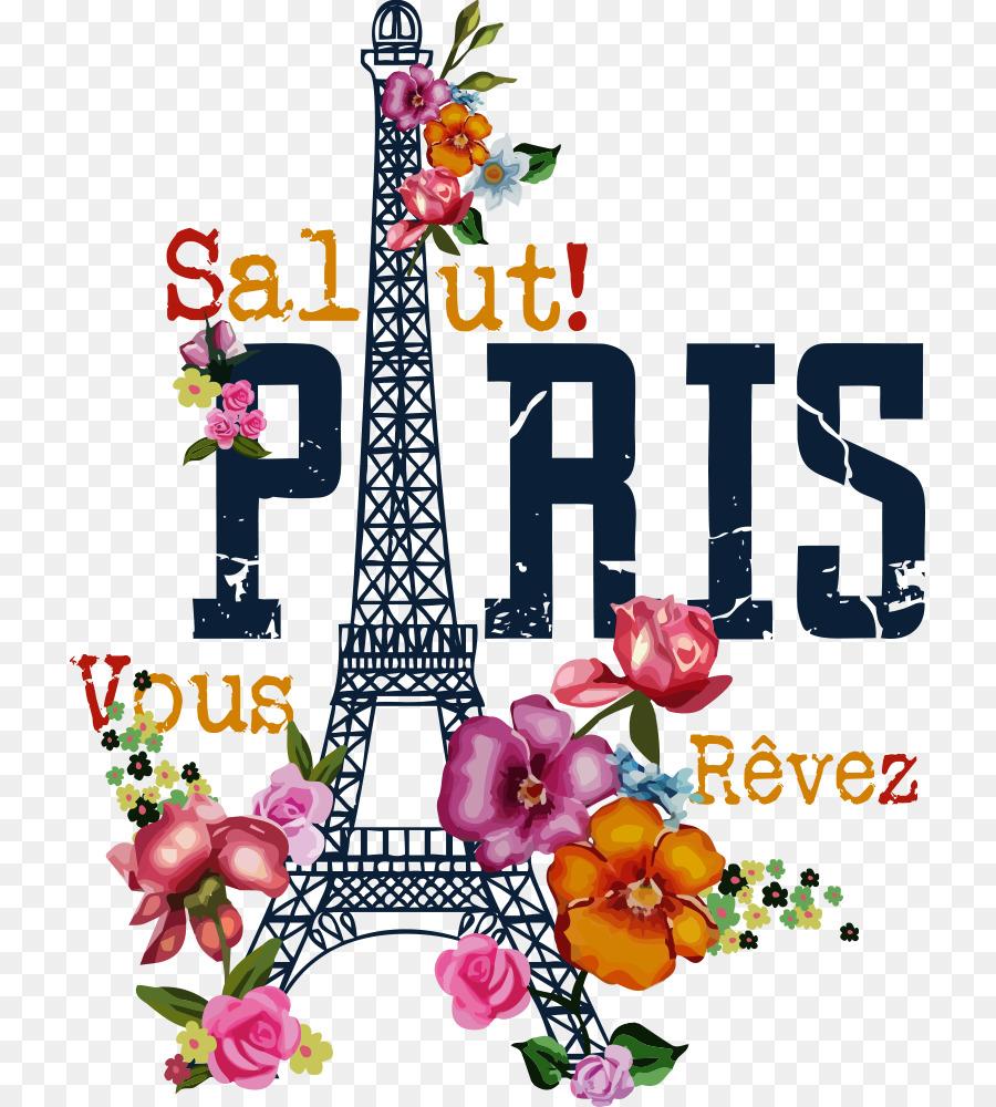 Descarga gratuita de La Torre Eiffel, Camiseta, Impreso Camiseta imágenes PNG