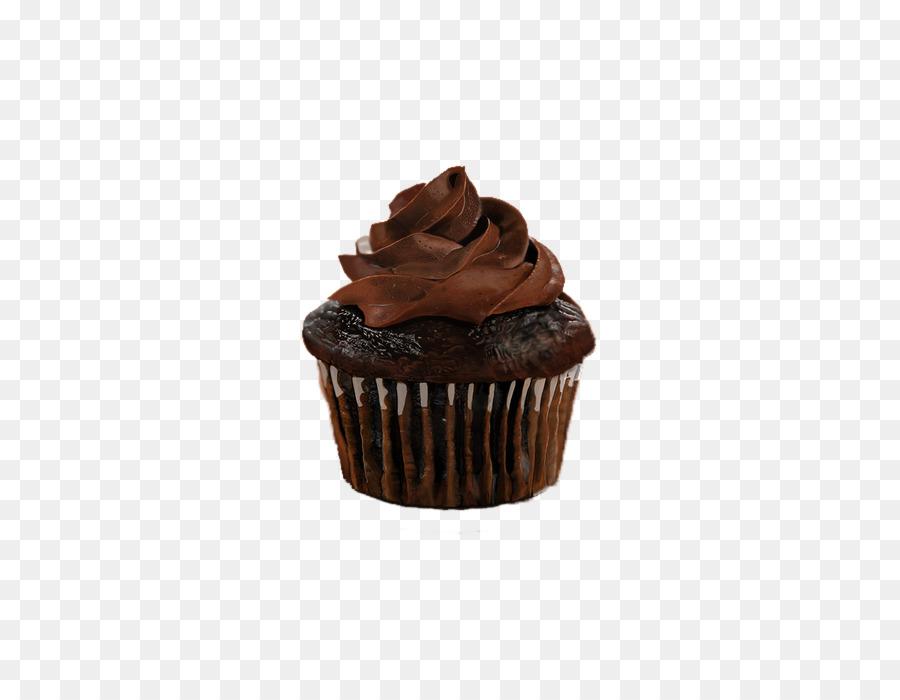 Descarga gratuita de Cupcake, Pastel De Chocolate, Ganache Imágen de Png