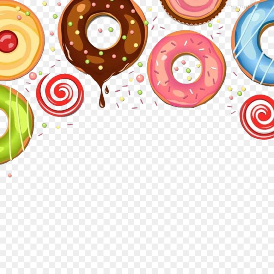 Descarga gratuita de Dona, Chocolate, De Postre Imágen de Png