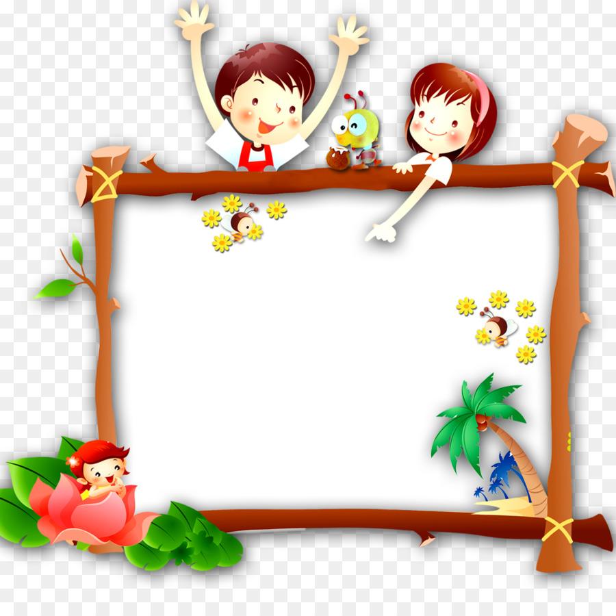 Descarga gratuita de De Dibujos Animados, Niño, Marco De Imagen Imágen de Png