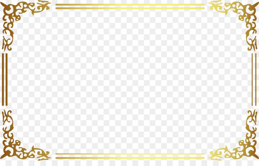 Descarga gratuita de Postscript Encapsulado, Euclídea Del Vector, Marco De Oro imágenes PNG