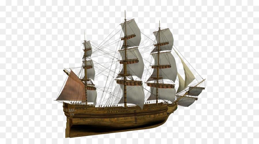 Descarga gratuita de Brigantine, Barco De Vela, Clipper imágenes PNG