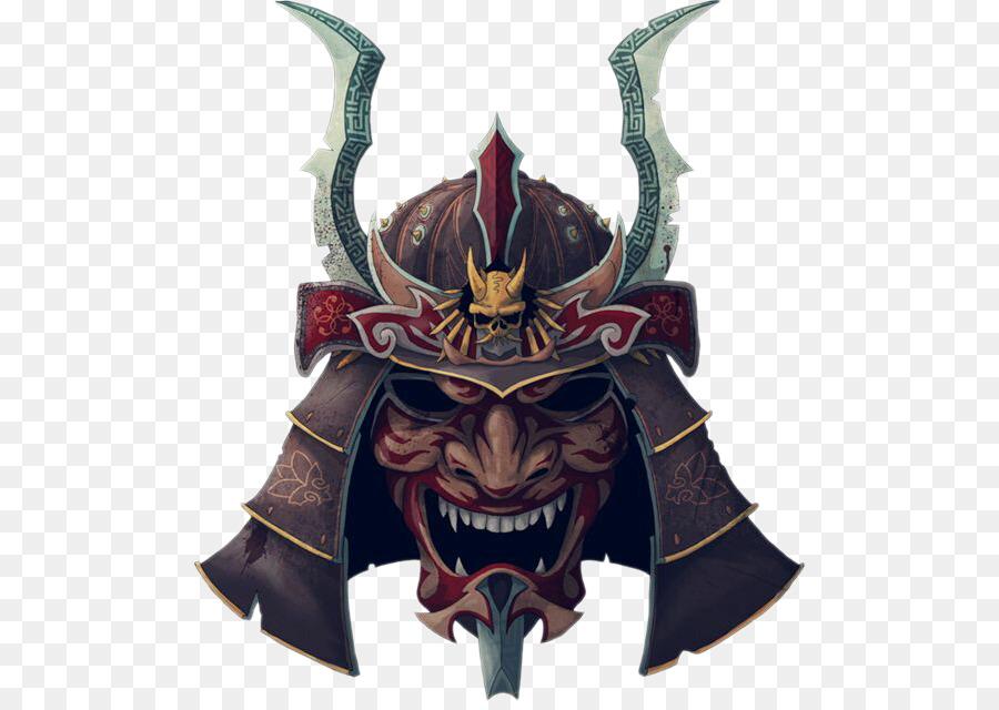Descarga gratuita de Samurai, Máscara, Oni imágenes PNG