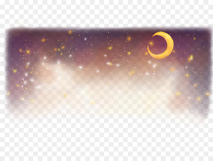 Descarga gratuita de Luna, Cielo, Cielo De La Noche Imágen de Png