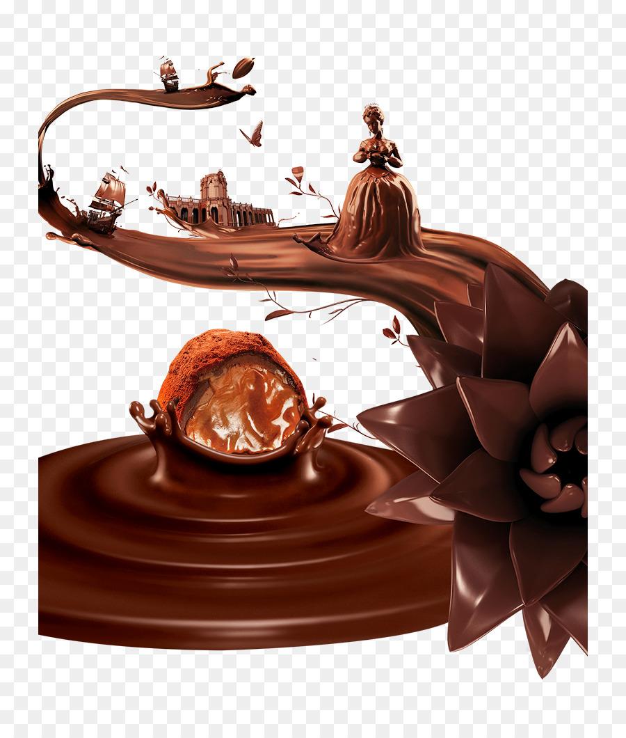 Descarga gratuita de Helado, Chocolate, Ganache Imágen de Png