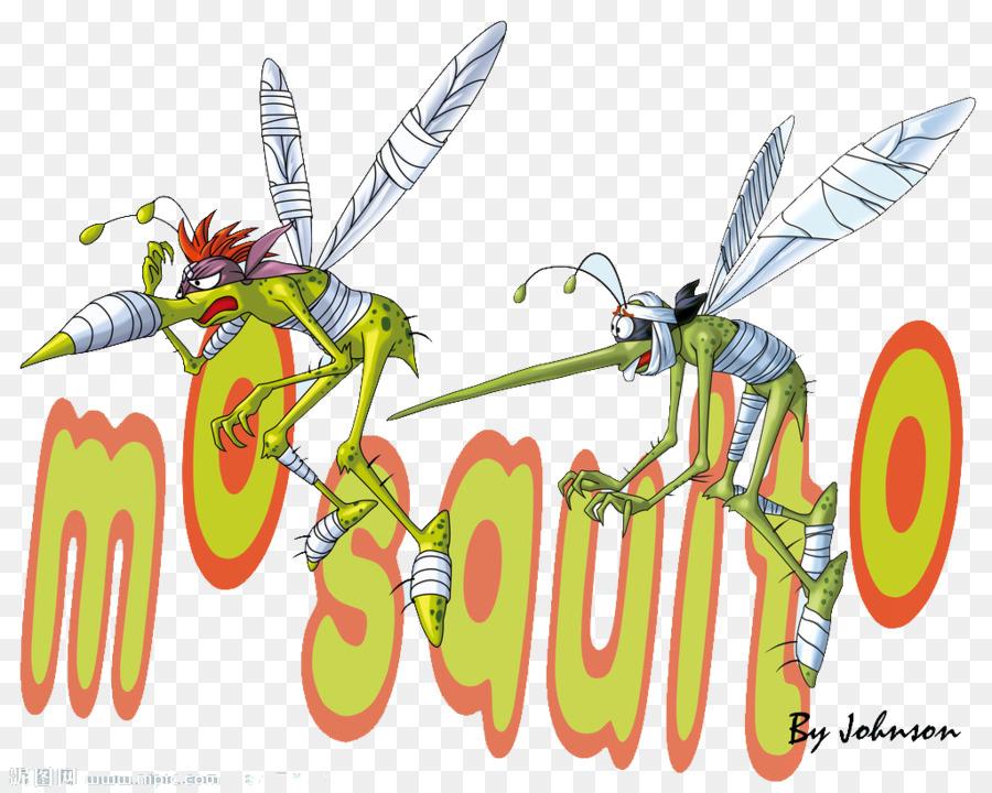 Descarga gratuita de Mosquito, De Dibujos Animados, Animación imágenes PNG