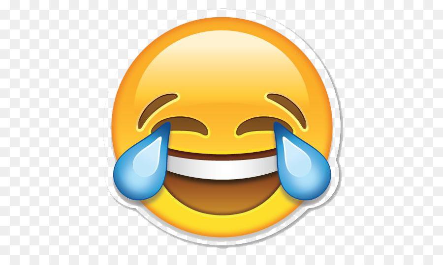 Descarga gratuita de Emoji, Cara Con Lágrimas De Alegría Emoji, Etiqueta Engomada De La Imágen de Png
