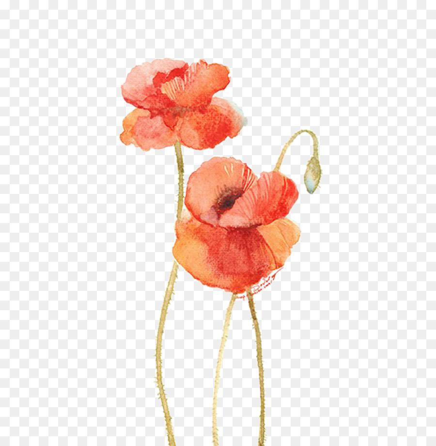 Descarga gratuita de Flor, Pintura A La Acuarela, Pintura imágenes PNG