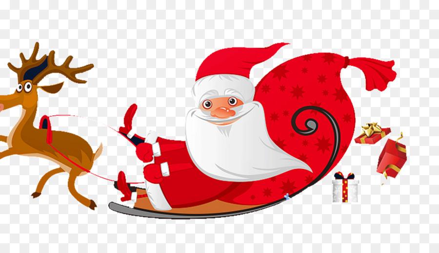 Descarga gratuita de Santa Claus, Reno, Santa Clauss Renos Imágen de Png
