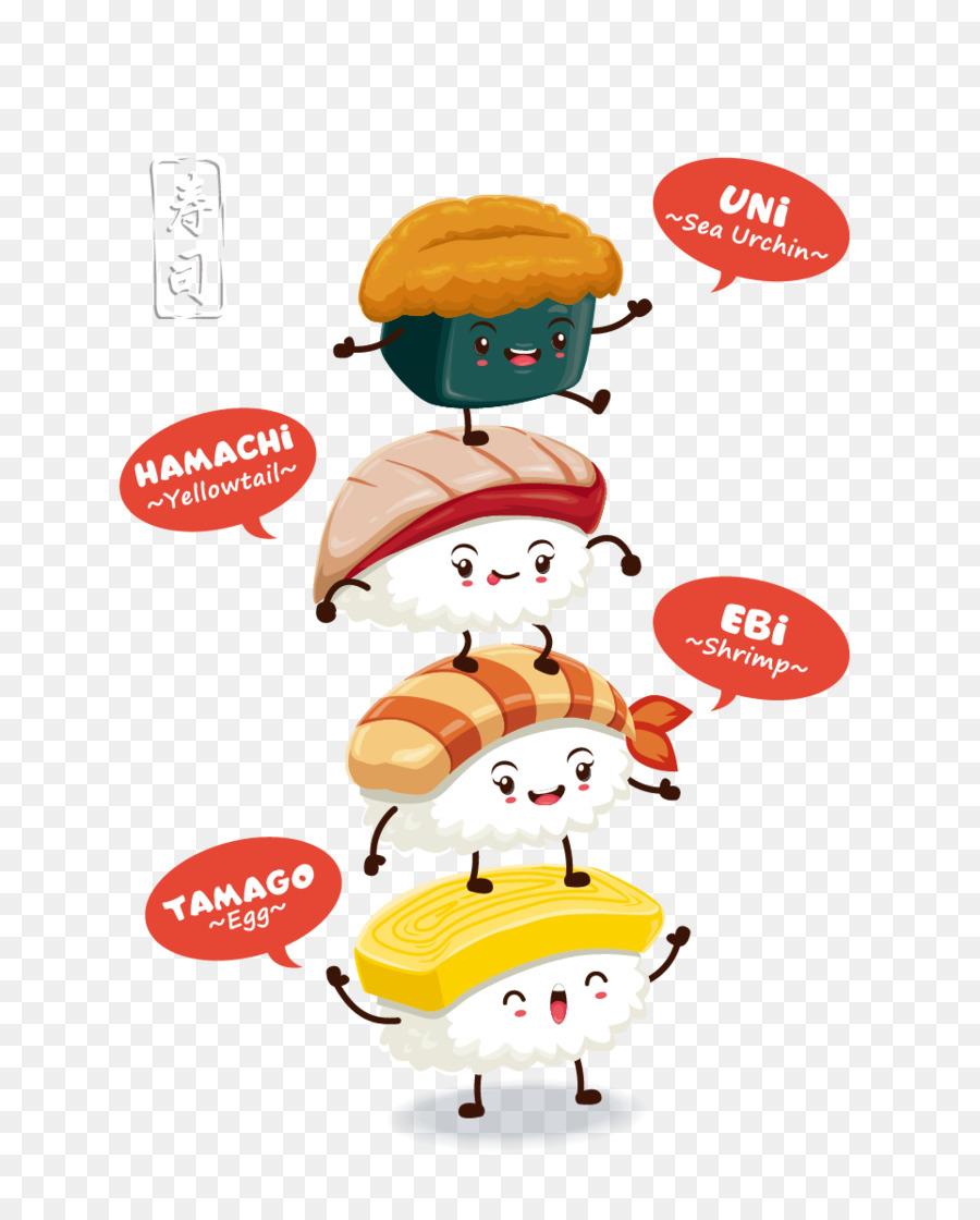 Descarga gratuita de Sushi, Cocina Japonesa, Onigiri imágenes PNG