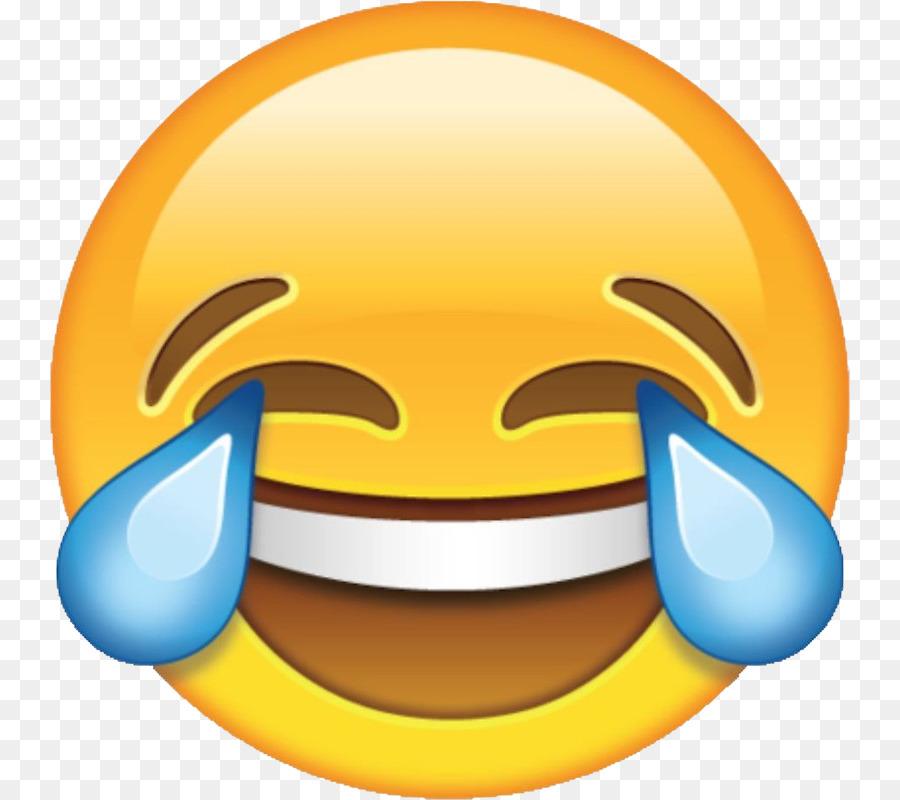 Descarga gratuita de La Risa, Cara Con Lágrimas De Alegría Emoji, Emoji imágenes PNG