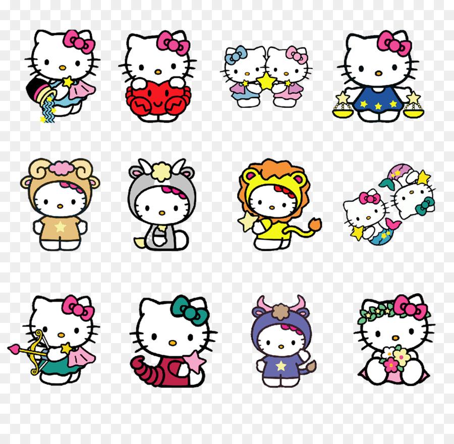 Descarga gratuita de Hello Kitty, Constelación, Euclídea Del Vector Imágen de Png