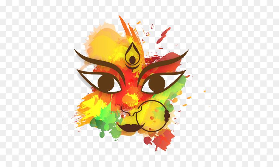 Descarga gratuita de Durga Puja, Dussehra, La Felicidad imágenes PNG