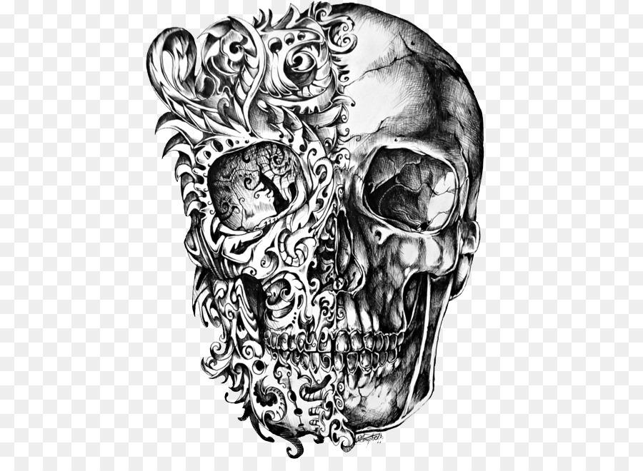 Descarga gratuita de Calavera, Cráneo, Tatuaje Imágen de Png