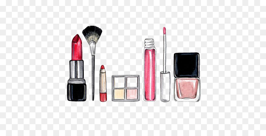 Descarga gratuita de Cosméticos, Dibujo, Artista De Maquillaje Imágen de Png