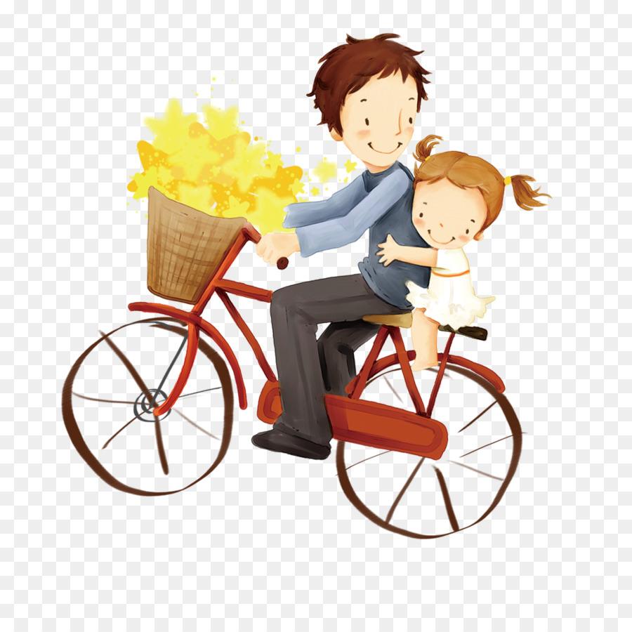 Descarga gratuita de Padre, De Dibujos Animados, Niño imágenes PNG