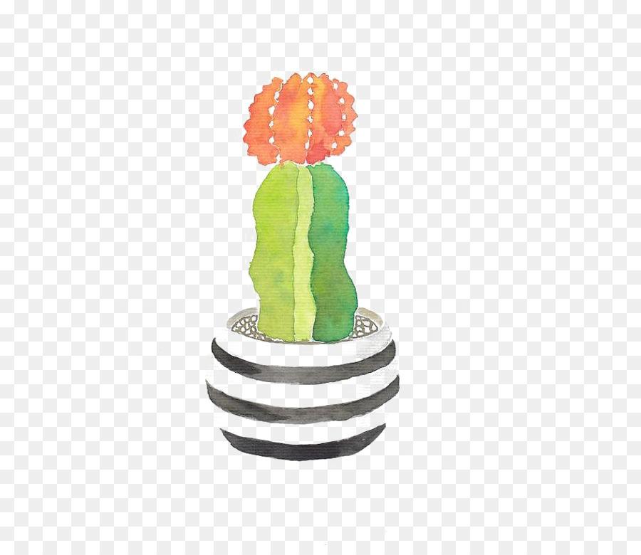 Descarga gratuita de Pintura A La Acuarela, Pintura, Cactaceae Imágen de Png