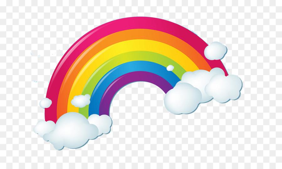 Descarga gratuita de Arco Iris, La Nube, Nube Iridiscente imágenes PNG