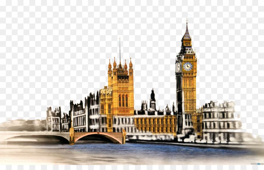Descarga gratuita de El Big Ben, El Ojo De Londres, Palacio De Westminster Imágen de Png