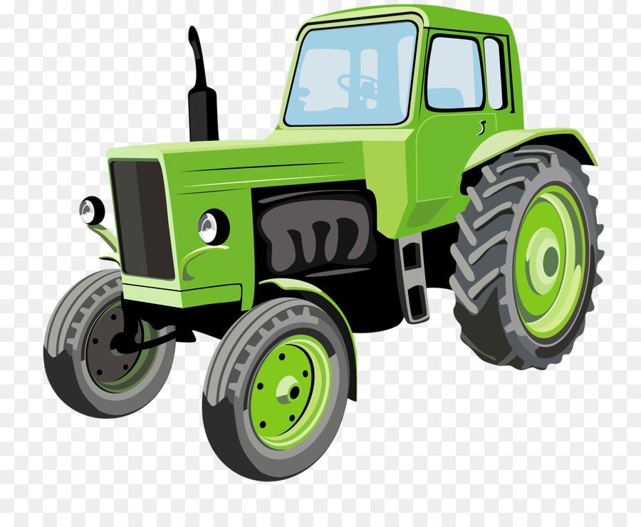 Descarga gratuita de Tractor, La Agricultura, De Dibujos Animados imágenes PNG