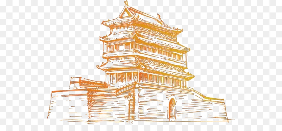 Descarga gratuita de De La Plaza De Tiananmen, La Ciudad Prohibida, Puerta De La Ciudad De Las Torres imágenes PNG