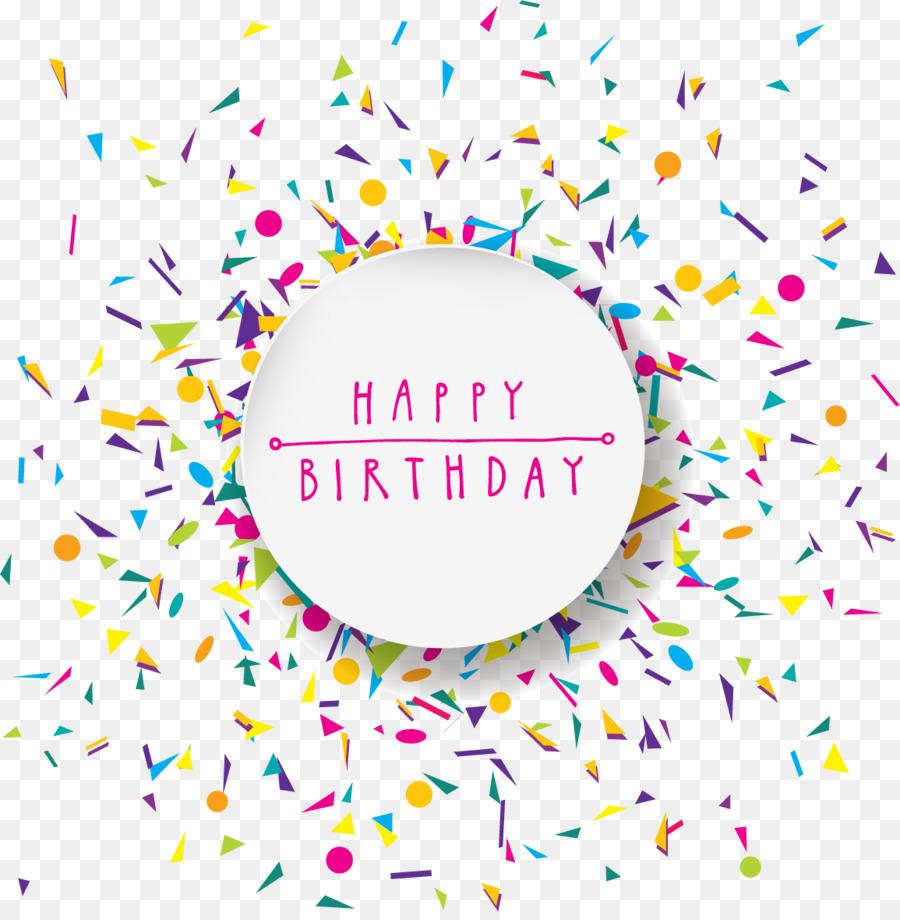 Descarga gratuita de Cumpleaños, Parte, Confeti Imágen de Png