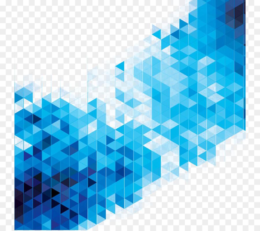 Descarga gratuita de El Arte Abstracto, Azul, La Geometría Imágen de Png