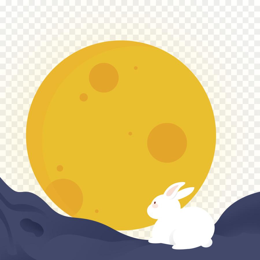 Descarga gratuita de Festival Midautumn, Mooncake, El Conejo De La Luna Imágen de Png