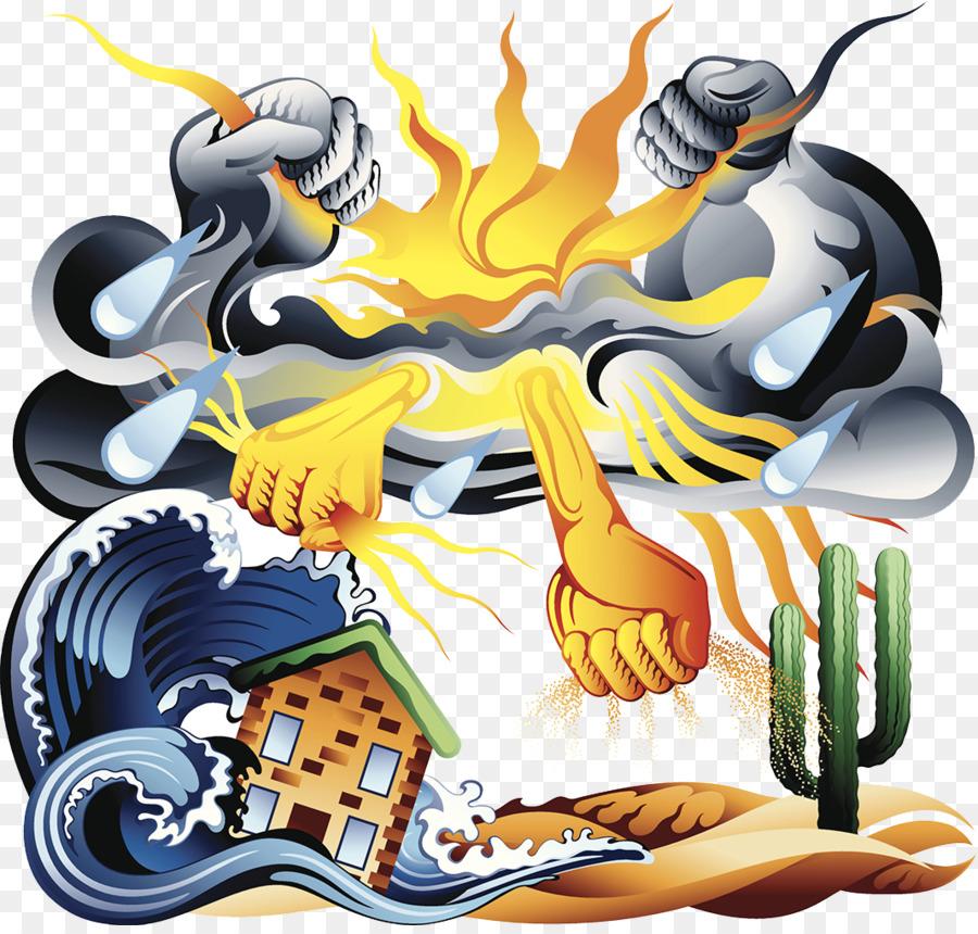 Descarga gratuita de Desastre Natural, De Dibujos Animados, La Tormenta imágenes PNG