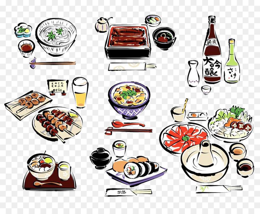 Sushi Cocina Japonesa Dibujo Imagen Png Imagen Transparente