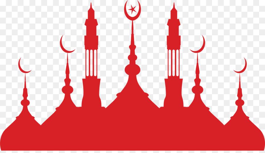 Descarga gratuita de Mezquita, Silueta, El Islam Imágen de Png