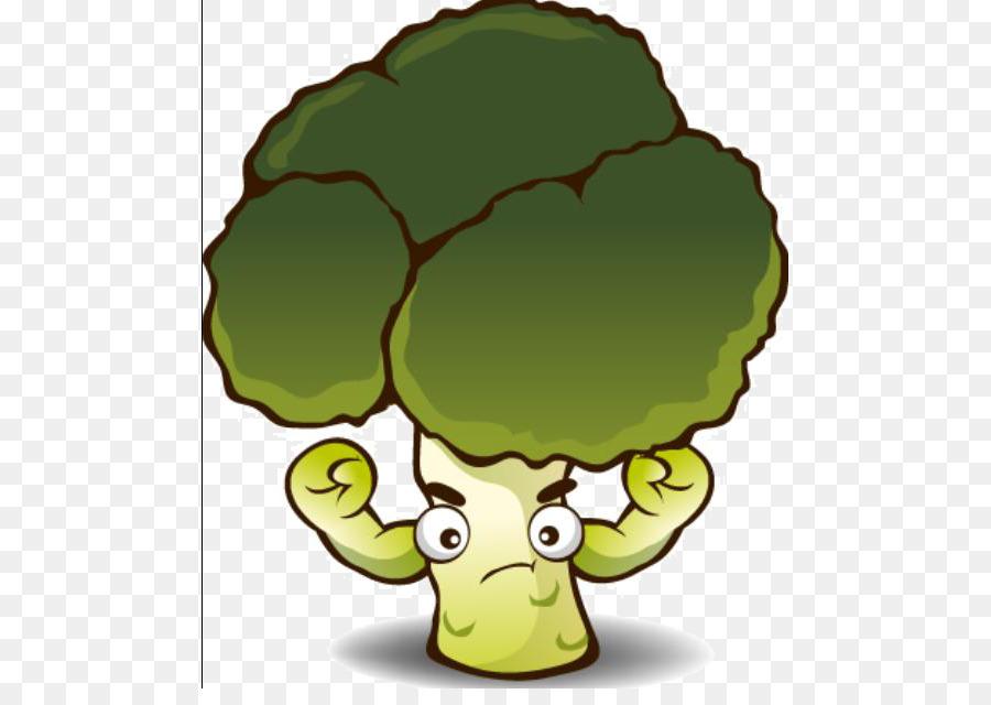 Descarga gratuita de Brócoli, De Dibujos Animados, Vegetal Imágen de Png
