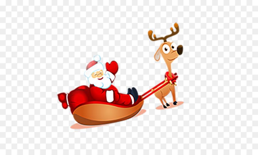 Descarga gratuita de Reno, Santa Claus, La Navidad imágenes PNG
