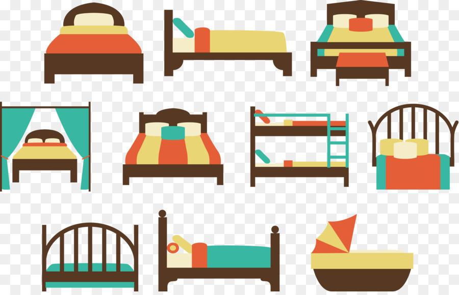 Descarga gratuita de Cama, Colcha, Dormitorio imágenes PNG