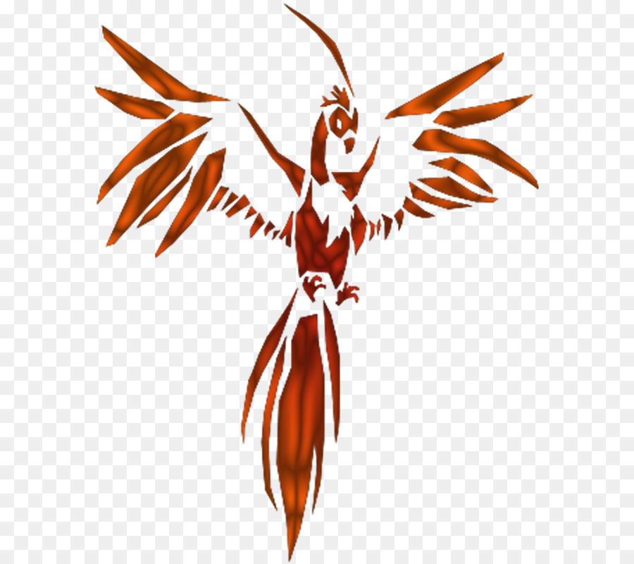 Ave Fénix Clip Art De Dibujos Animados De Aves Tatuaje
