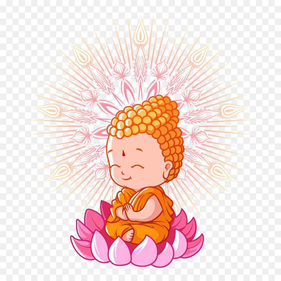Descarga gratuita de El Budismo, Los Budas De Cumpleaños, De Dibujos Animados imágenes PNG