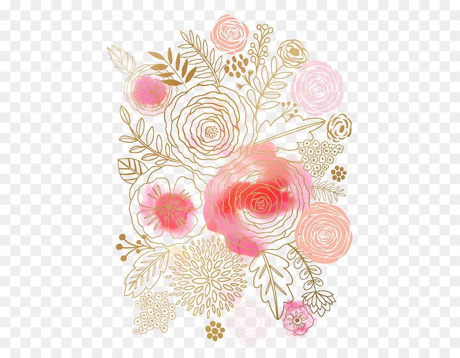 Descarga gratuita de Flor, Pintura A La Acuarela, Diseño Floral Imágen de Png