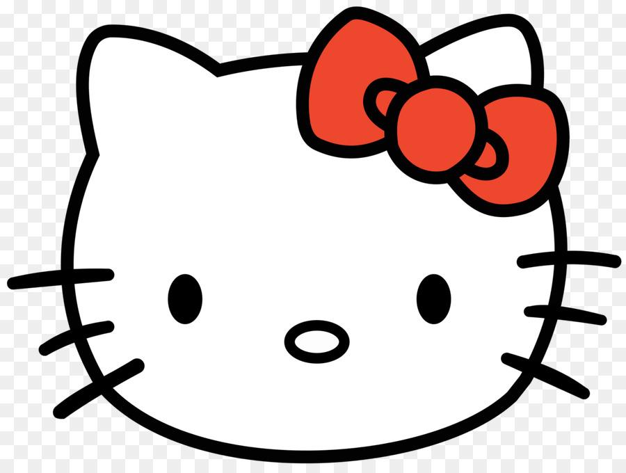 Hello Kitty Gatito La Cara Imagen Png Imagen Transparente