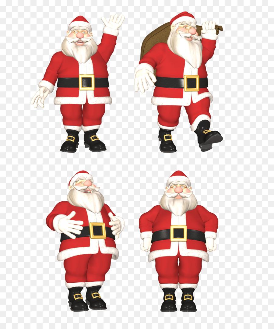 Descarga gratuita de Santa Claus, Ded Moroz, Snegurochka imágenes PNG