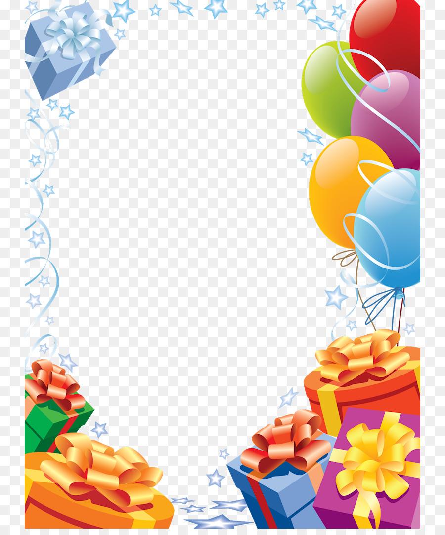 Descarga gratuita de Feliz Cumpleaños Tarjeta, Cumpleaños, Marco De Imagen imágenes PNG